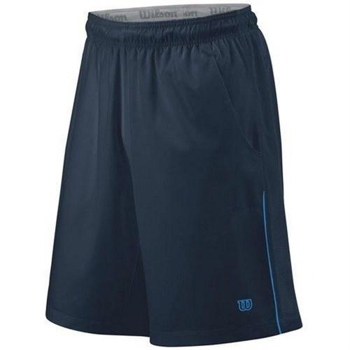 Wilson Cardiff Colourblock 10' Men's Tennis Short Navy Erkek Tenis Kıyafeti