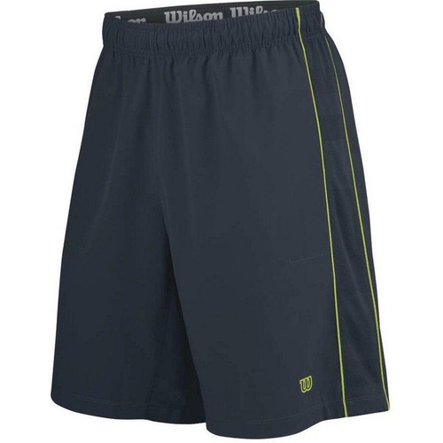 Wilson Specialist Panel Kömür Şort Erkek Tenis Kıyafeti