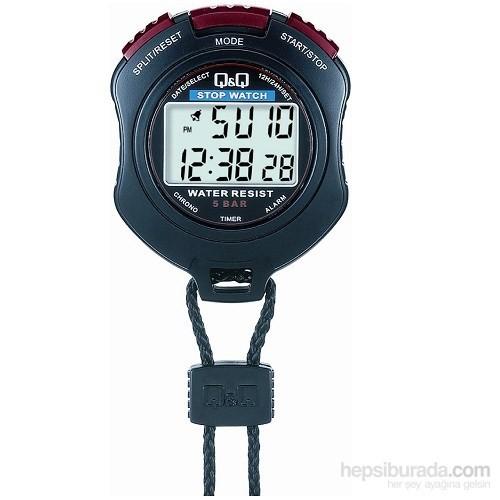 Q&Q HS47 Su Geçirmez Kronometre