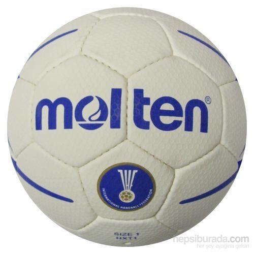Molten Hxt1 Ihf Onaylı Dikişli Deri 1 No Hentbol Topu