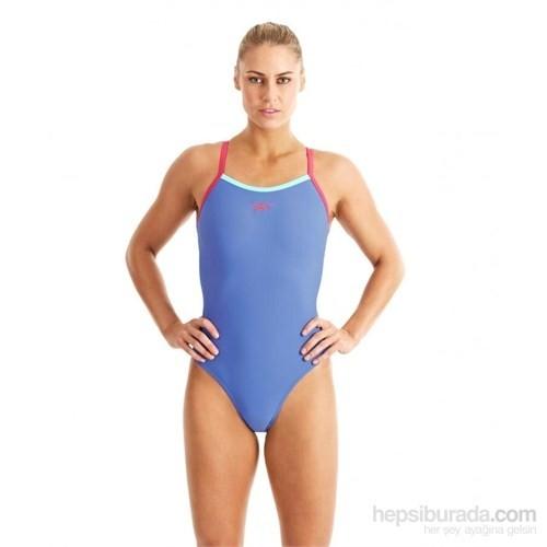 Speedo Plmt Thinstrap Muscleback Swimsuit Mayo