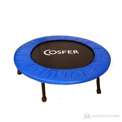 "Cosfer Ultra-Deluxe Trampolin ( 92 CM ) 36"" Mavi"