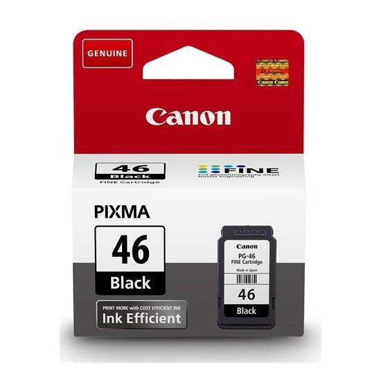 Canon PG-46 Siyah Mürekkep Kartuşu