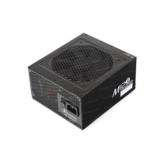 Seasonic M12II-750 80+ Bronze 750W Single Rail Modüler Power Supply (SEA-M12II-750)