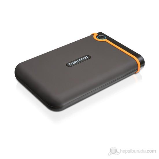 "Transcend 500GB STORJET25M2 Anti Şok özellikli 2.5"" Taşınabilir Disk"