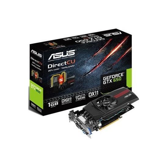 Asus Nvidia GeForce GTX 650 1GB 128Bit GDDR5 (DX11.1) PCI-E 3.0 Ekran Kartı (GTX650-DC-1GD5)