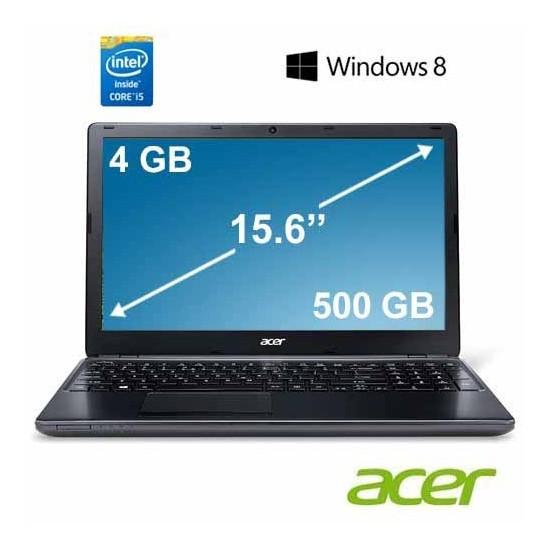 "Acer E1-572G Intel Core i5 4200U 1.6GHz / 2.6GHz 4GB 500GB 15.6"" Taşınabilir Bilgisayar 54204G50MNKK"