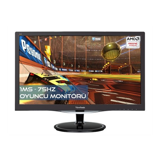 "Viewsonic VX2757-MHD 27"" 1ms 75hz (Analog+HDMI+Display) AMD FreeSync™ Full HD Oyuncu Monitör"