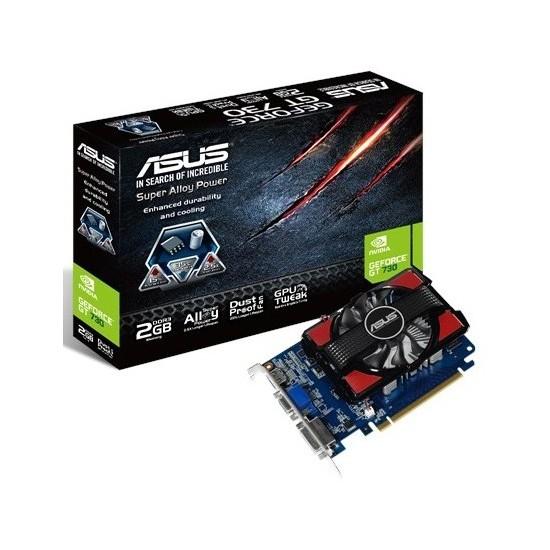 Asus Nvidia GeForce GT 730 2GB 128Bit DDR3 (DX11) PCI-E 2.0 Ekran Kartı (GT730-2GD3)