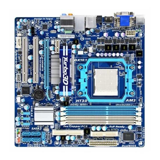 Gigabyte GA-880GM-UD2H AMD 880G DDR3 1800MHz(OC) Soket AM3 Anakart