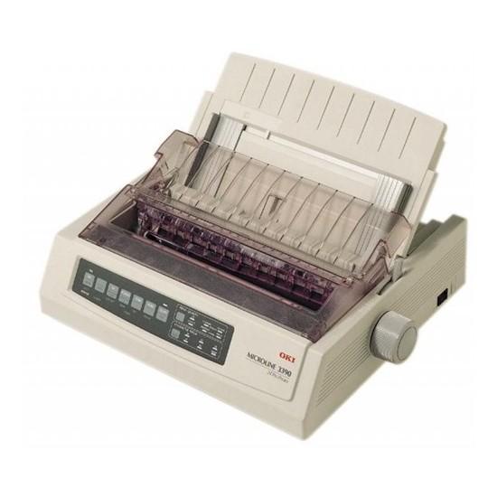 Okı 1308401 Okı Microline 3390, 80 Kolon, 24 İğneli Nokta Vuruşlu Yazıcı