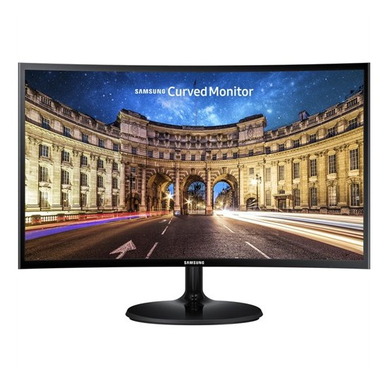 "Samsung LC24F390FHMXUF 23.5"" 60-72Hz (Analog+HDMI) Full HD FreeSync Kavisli VA Monitör"