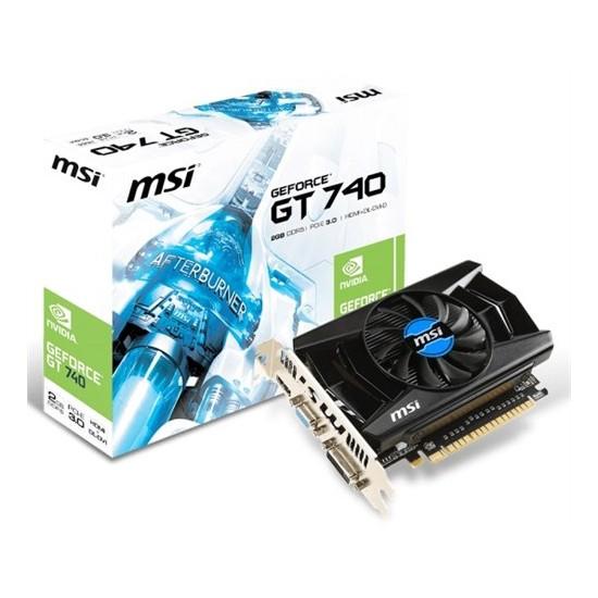 MSI Nvidia GeForce GT 740 2GB 128Bit GDDR5 (DX12) PCI-E 3.0 Ekran Kartı (N740-2GD5)