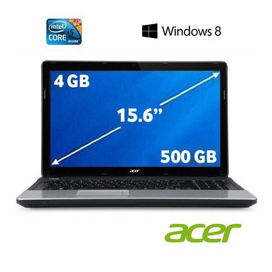 "Acer E1-571 Intel Core i5 3230M 2.6 GHz 4GB 500GB 15.6"" Taşınabilir Bilgisayar 53234G50Mnks"
