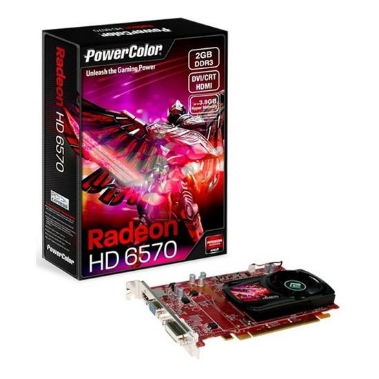 Powercolor Ati Radeon HD6570 2GB 128Bit DDR3 (DX11) PCI-E 2.1 Ekran Kartı (AX6570 2GBK3-HE)