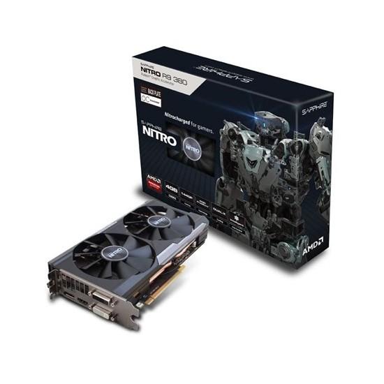 Sapphire Amd Radeon R9 380 OC Nitro Dual-X 4GB 256Bit GDRR5 (DX12) PCI-E 3.0 Ekran Kartı (11242-13-41G)