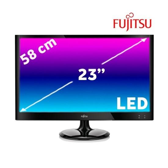"""Fujitsu SL23T-1 23"""" 3ms (Analog+2xHdmi) 2x1W Hoparlör Full HD LED Monitör"""