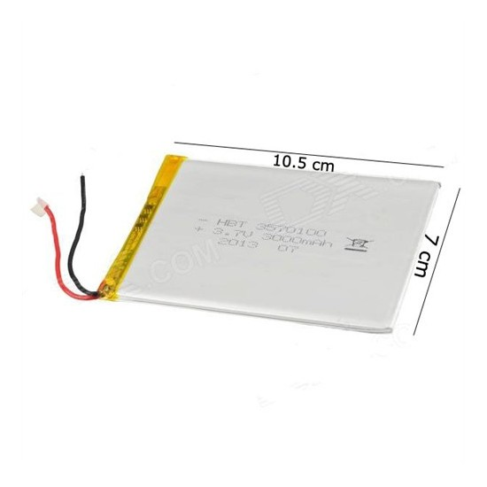 Sunny 8 Ve 9 İnç 3.7V 5000Mah Tablet Batarya