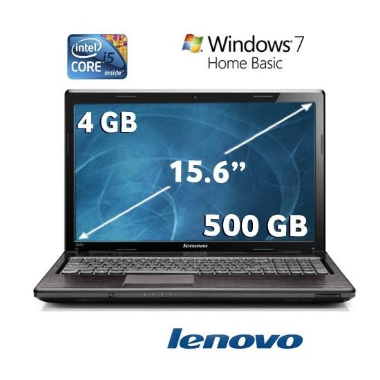 """Lenovo G570 Intel Core i5 2410M 2.3GHZ 4GB 500GB 15.6"""" Taşınabilir Bilgisayar 59-301351"""