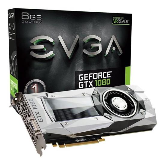 Evga Nvidia GeForce GTX 1080 Founders Edition 8GB 256Bit GDDR5X (DX12) PCI-E 3.0 Ekran Kartı 08G-P4-6180-KR
