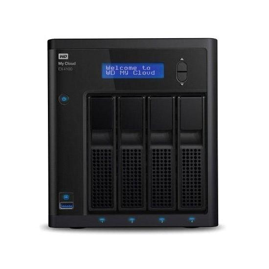 Western Digital My Cloud EX4100 8TB EMEA Çoklu Depolama Ünitesi (NAS) (WDBWZE0080KBK)