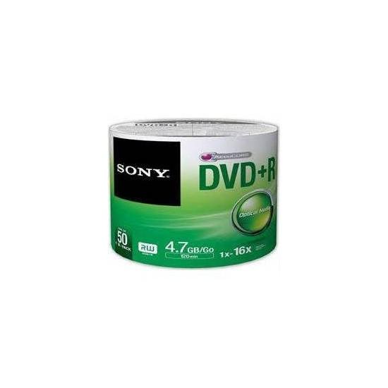 Sony DVD + R 16X 50'li Spindle