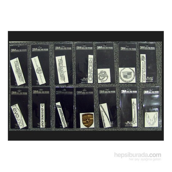 Space Metalize Sticker Yacı121