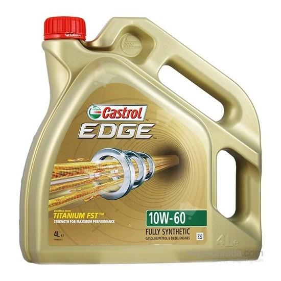 Castrol Edge Titanium FST 10W-60 4 Litre Motor Yağı ( Üretim Yılı: 2021 )