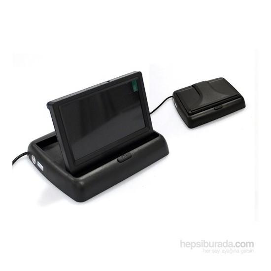 Space Kameralı LCD Monitör 4.3 inc