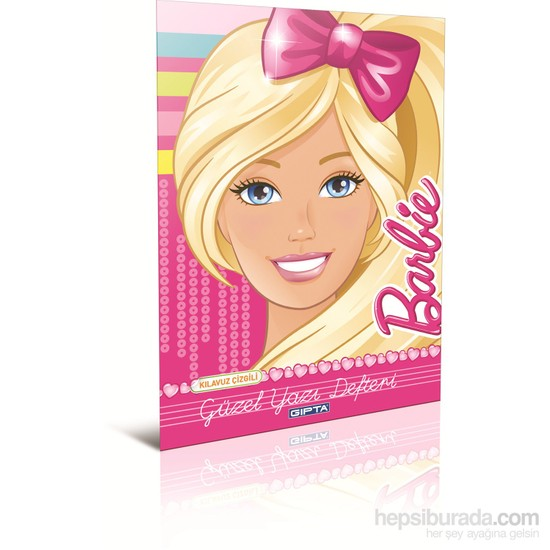 Gıpta 5450 Barbie Güzel Yazı Defteri A4 40 Yaprak