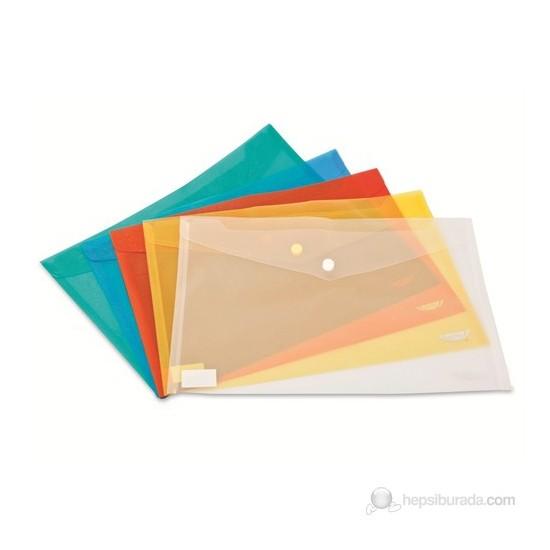 Noki Dosya Çıtçıtlı Evrak Zarfı Mavi 3101