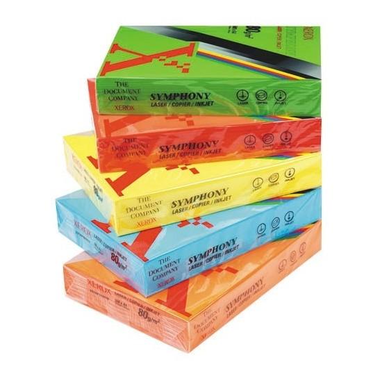 Xerox Symphony A4 80 Gr Renkli Fotokopi Kağıdı