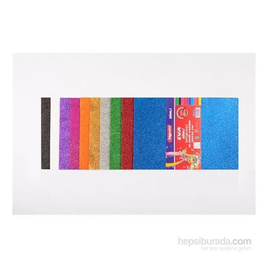 Bigpoint Eva Simli Yapışkanlı 50X70 10 Renk Karışık