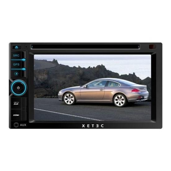 "Xetec DS-3501 6.2"" dokunmatik ön panel /dvd/vcd/mp3 /navigasyon dahil sistem/bluetooth/Usb/TV/ direk"