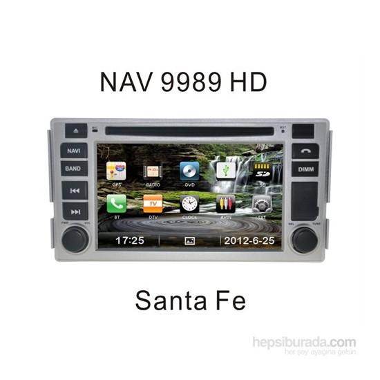 Navimex Hyundaı Sante Fee Old - Nav 9989 Hd Navigasyonlu Multimedya Sistemi