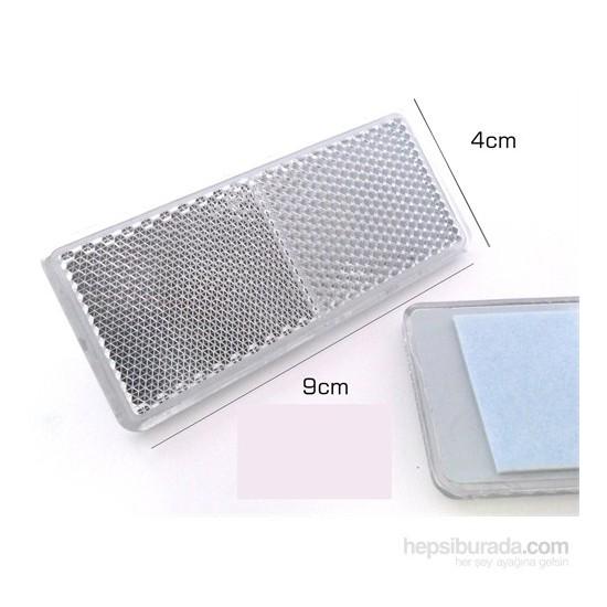 ModaCar Yapıştırmalı Beyaz İkaz Reflektörü 426844
