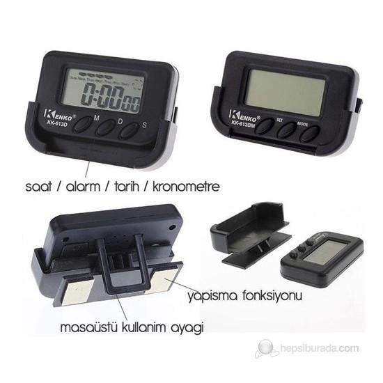 ModaCar Motorsiklet Dijital Saat Alarm Tarih Kronometre 422350