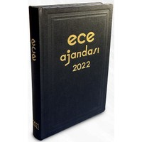Ece Ajandası - 2022 Ticari Koleksiyonu - Anadolu 17 x 25 cm Siyah