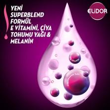 Elidor Superblend Saç Bakım Şampuanı Esmer Parlaklık Vitamin E Chia Tohumu Yağı Melanin 650 ML