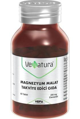 Venatura Magnezyum Malat Takviye Edici Gıda 60 Tablet
