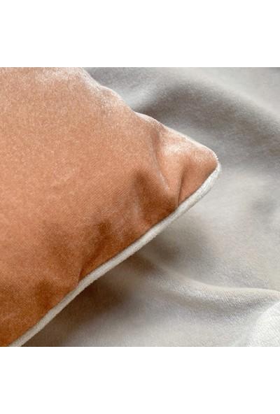 Candy Velvet Kadife Kırlent - Iç Yastıklı