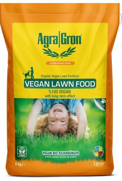 Agragron %100 Vegan Bitkisel Menşeli Çim Gübresi / Doğal Çim Coşturan Gübre 6 kg