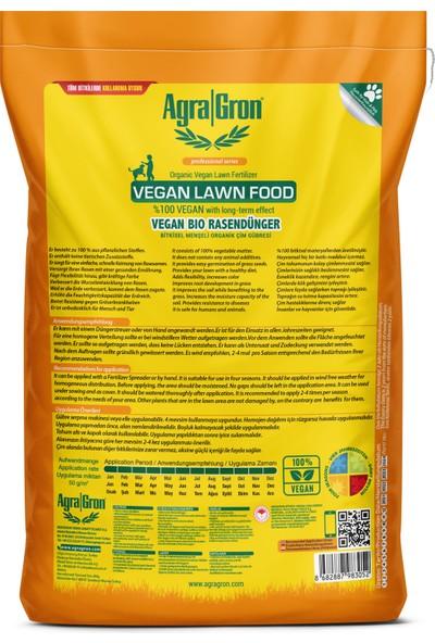 Agragron %100 Vegan Bitkisel Menşeli Çim Gübresi / Doğal Çim Coşturan Gübre 20 kg