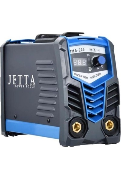 Jetta Power Tools Jetta Power 500 Pro Inverter Dijital Göstergeli Kaynak Makinası 200 Amp 2,5 3 Sorunsuz Eritir