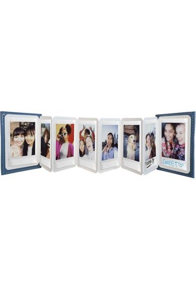 Instax Mini 11 Beyaz Fotoğraf Makinesi ve Jean Aksesuarlı Seti 1