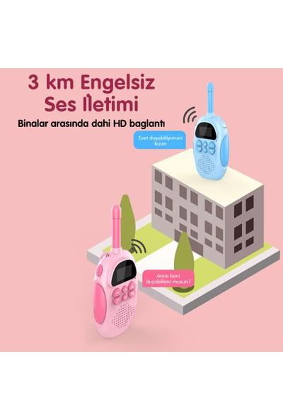 Vrpro 3km Menzilli 2 Yönlü Konuşma Wireless Bebek Telsizi