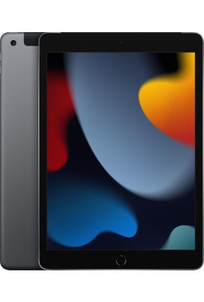 "Apple iPad 9.Nesil 64GB 10.2"" WiFi Cellular Tablet - MK473TU/A Uzay Grisi"