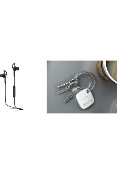 Mirax SBE-3300 Bluetooth Stereo Kulaklık - Siyah ve Gigaset Keeper Set