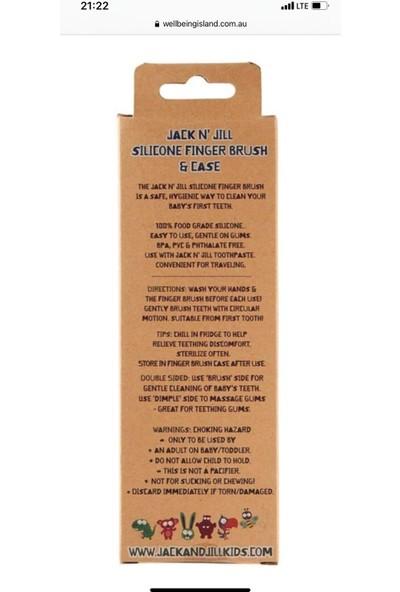 Jack and Jill Silikon Parmak Fırça 2'li Paket