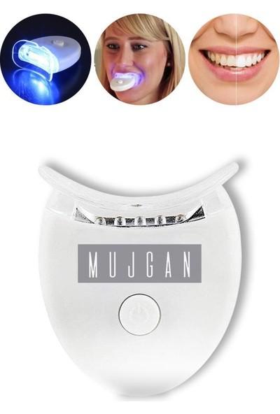 Mujgan Mavi Işık Teknolojisi ile Diş Beyazlatma Kiti & Beyazlatıcı Diş Kalemi Seti